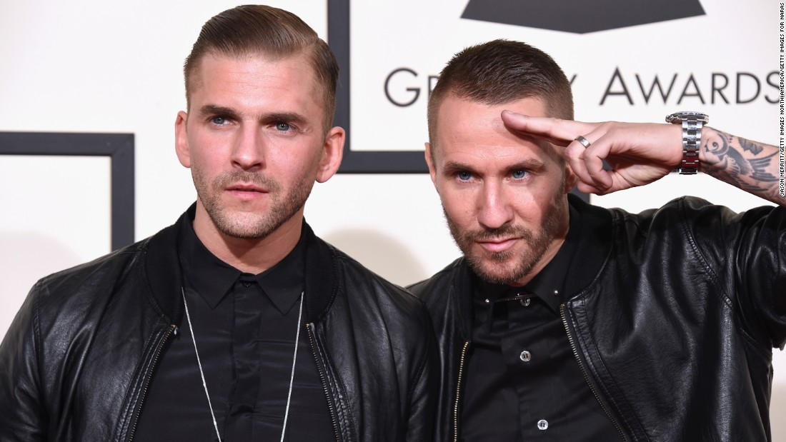 "The electronic duo Galantis: Linus Eklow, left, and Christian ""Bloodshy"" Karlsson"