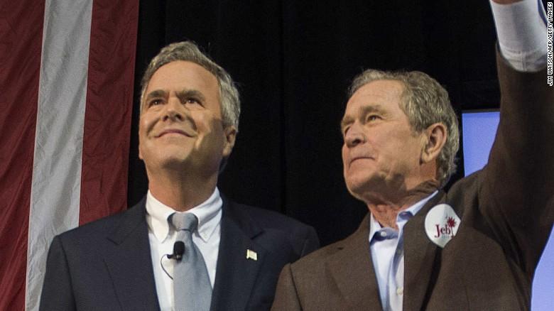 Jeb Bush fires back at Trump: My brother kept us safe