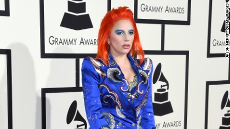 LOS ANGELES, CA - FEBRUARY 15:  Singer Lady Gaga attends The 58th GRAMMY Awards at Staples Center on February 15, 2016 in Los Angeles, California.  (Photo by Jason Merritt/Getty Images for NARAS)