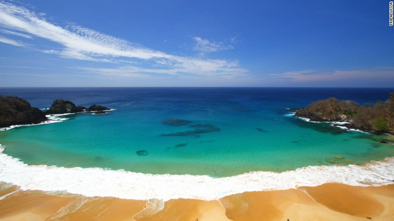 TripAdvisor released its Travelers' Choice rankings for best beaches on February 17. Former No. 1 Baia do Sancho in Fernando de Noronha, Brazil, dropped to No. 2 this year.