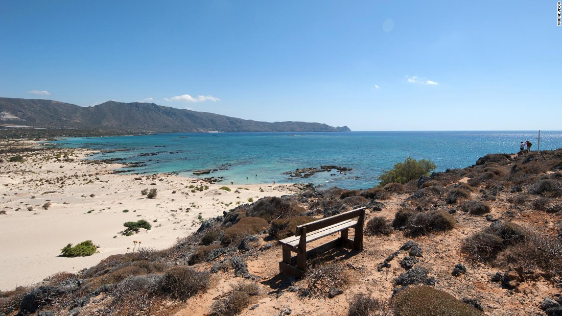 "Greece's Elafonissi Beach is ""heaven on earth,"" one reviewer says."