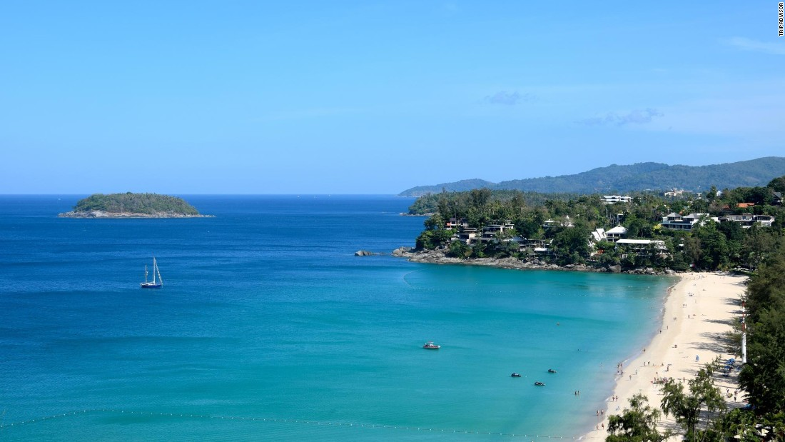 Karon, Thailand's Kata Noi Beach, is a crowd favorite in Phuket.