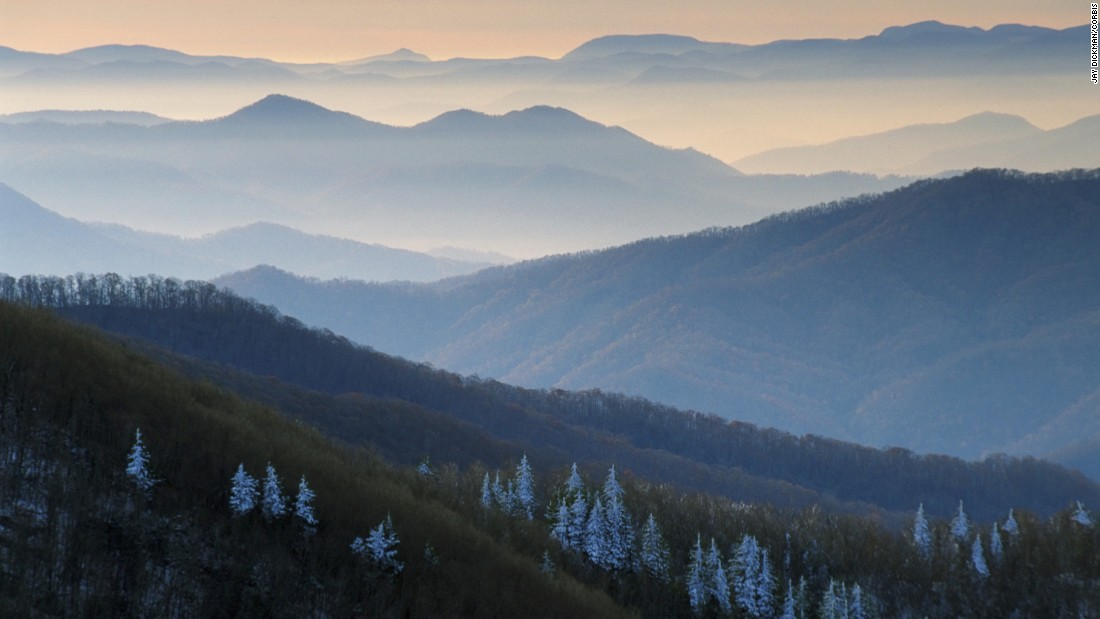 """<a href=""""http://www.cnn.com/2013/05/23/travel/national-parks-great-smoky/"""">Great Smoky Mountains National Park</a>, which straddles the North Carolina-Tennessee border, was the third most-visited National Park Service site in 2015. It was the most-visited of the nation's 59 specially designated national parks."""