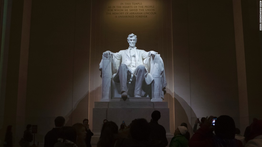 """The Lincoln Memorial, on the National Mall in Washington, came in at fourth place with 7.9 million visits last year. <a href=""""http://www.cnn.com/2016/02/16/travel/lincoln-memorial-refurbishment/"""">The National Park Service announced in February that financier and philanthropist David Rubenstein</a> donated $18.5 million to help restore the memorial."""