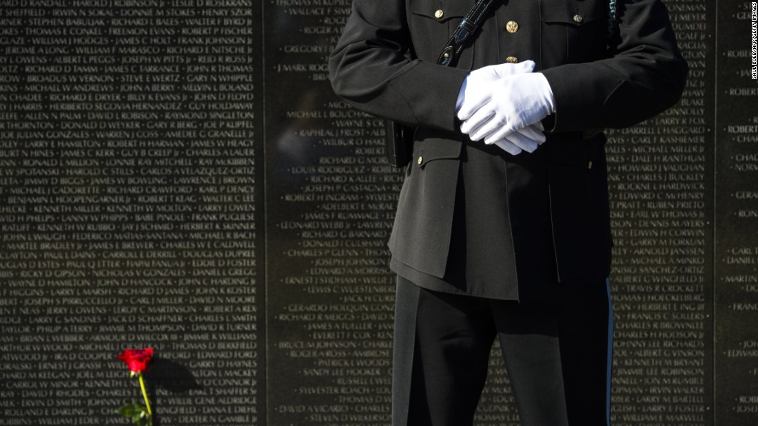 """<a href=""""http://www.nps.gov/vive/index.htm"""" target=""""_blank"""">The Vietnam Veterans Memorial</a> includes the names of over 58,000 servicemembers who gave their lives in service in the Vietnam War."""