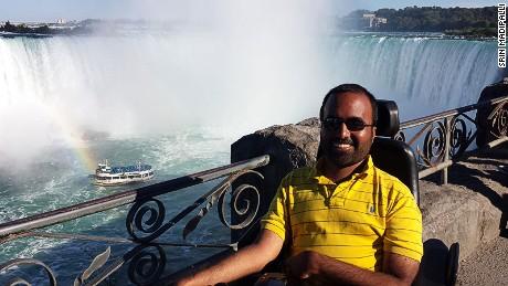 Accomable founder Srin Madipalli