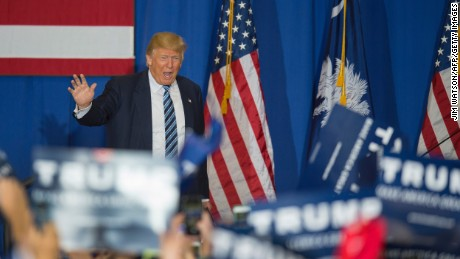 Donald Trump holds commanding lead in South Carolina