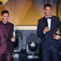 Messi Ronaldo Ballon d'Or
