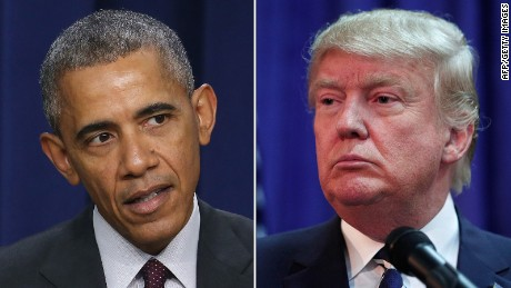 Obama, Trump throw down on trade