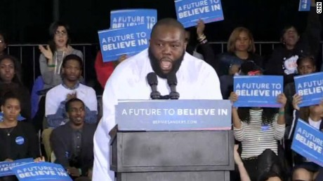 killer mike uterus bernie sanders rally sot_00002213