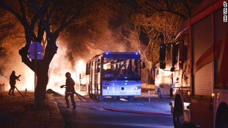 Explosion rocks Turkey's capital