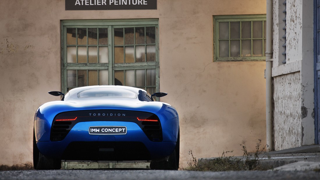 """It's [an] emotional, sensational feeling because you're overwhelmed with the performance and the sound of the engines,"" states Toroidion CEO Pasi Pannenen on their website. ""It sounds like a mixture of a Grand Prix car engine and a jet turbine together."" The Toroidion 1MW was unveiled by Monaco's Prince Albert II and originally designed to compete in, and win, the 24-hour Le Mans race."