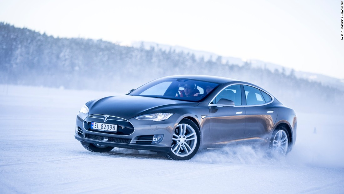 "According to Tesla, ""Model S acceleration is instantaneous, silent and smooth."" As well as Ludicrous Mode, the Tesla S P90D has an autopilot feature that ""allows Model S to steer within a lane, change lanes with the simple tap of a turn signal, and manage speed by using active, traffic-aware cruise control."""