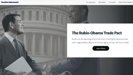 Marco Rubio criticizes Ted Cruz's photoshopped ad