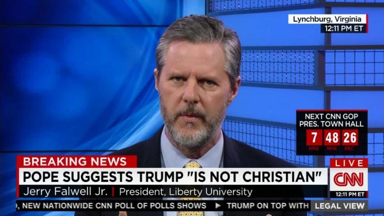 Jerry Falwell Jr.: 'I do believe Trump is a Christian'