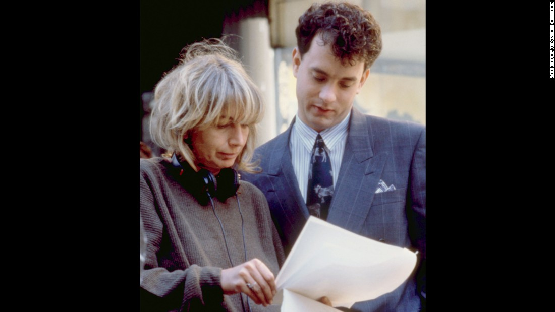 """Penny Marshall, best remembered for her days as Laverne DeFazio on """"Laverne and Shirley,"""" went on to become a successful film director. With box office hits like 1988's """"Big"""" (with Hanks) and 1992's """"A League of Their Own"""" -- each of which brought in more than $100 million --  Marshall became the first female director to have a film break the $100 million mark at the box office. Her secret to success can be found in the Waylon Jennings lyrics framed in her bathroom: """"I've always been crazy, but it's kept me from going insane."""""""