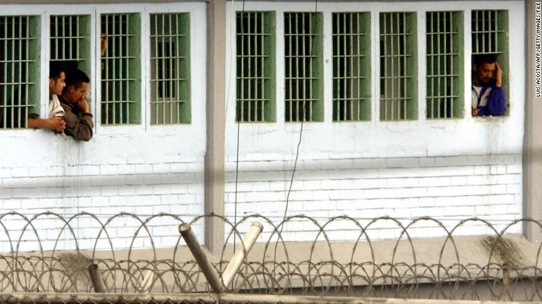 La Modelo in Bogota is one of Colombia's largest and most overpopulated prisons.