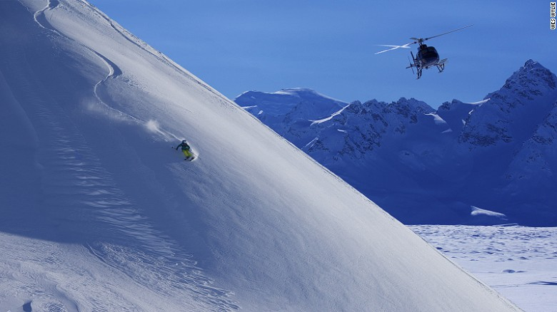 The Alaska Range is home to Denali, North America's highest mountain.