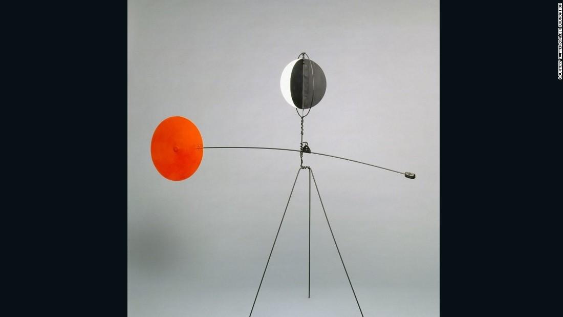 American sculptor Alexander Calder's moving legacy - CNN.com Alexander Calder Mobile Names