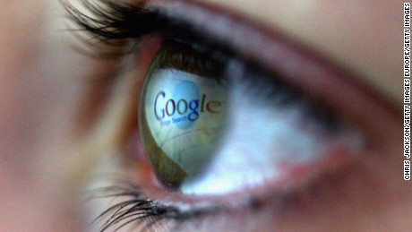 LONDON - FEBRUARY 03:  In this photo illustration the Google logo is reflected in the eye of a girl on February 3, 2008 in London, England.  Financial experts continue to evaluate  the recent Microsoft $44.6 billion (?22.4 billion) offer for Yahoo and the possible impact on Internet market currently dominated by Google.  (Photo by Chris Jackson/Getty Images)