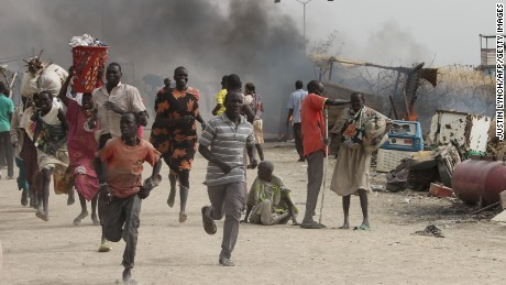 Shots fired at US embassy vehicles in South Sudan