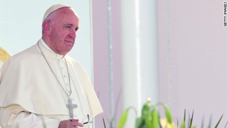 Pope suggests contraceptives could slow spread of Zika