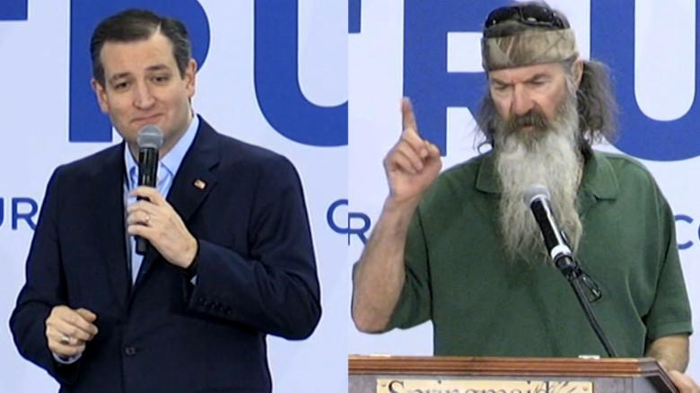 Ted Cruz: 'Duck Dynasty' star for U.N. Ambassador?