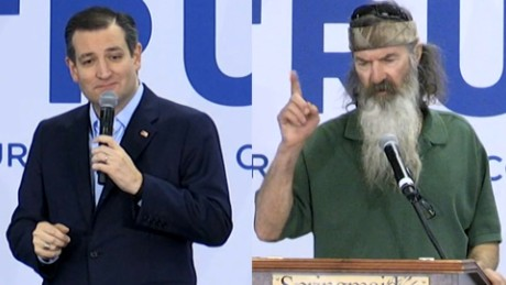 Ted Cruz: 'Duck Dynasty' star for U.N. Ambassador?