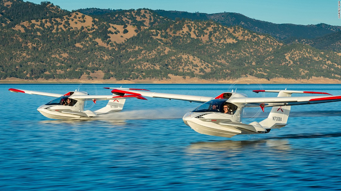 The Icon A5 is primarily a recreational aircraft. It can be flown by anyone with a sport pilot license.