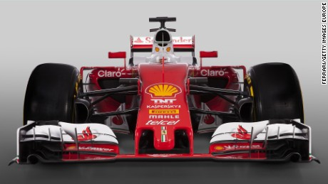 MARANELLO, ITALY - FEBRUARY 19: In this handout image supplied by Scuderia Ferrari, the team unveil their new SF16-H Formula One car for the 2016 FIA Formula One World Championship on February 19, 2016 in Maranello, Italy. (Photo by Scuderia Ferrari via Getty Images)