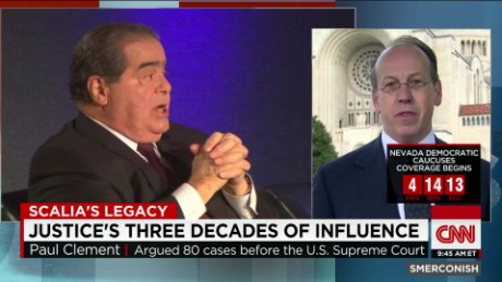 exp Paul Clement on Justice Scalia's Legacy_00014324.jpg