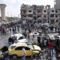 Syria Homs car bomb Al-Zahraa