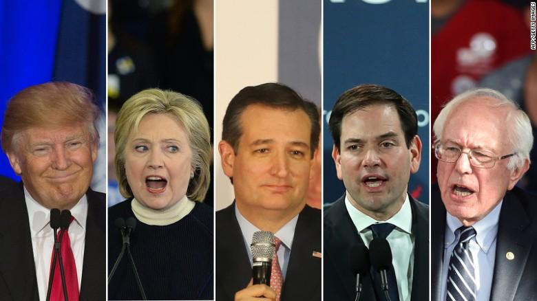 Poll: Clinton, Sanders both top Trump