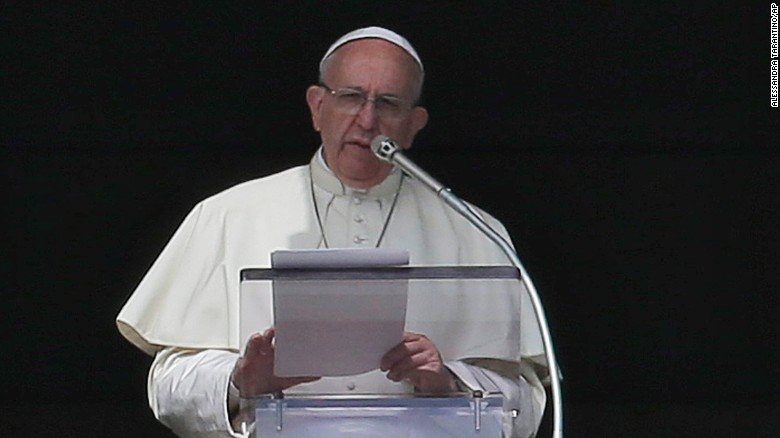 Pope Francis spoke about abolishing the death penalty during his Sunday address in St. Peter's Square.