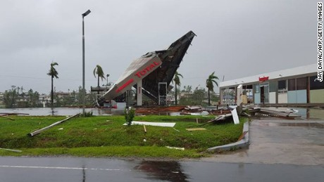 Fiji struck by Cyclone Winston