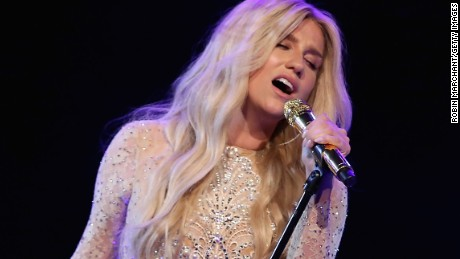 NEW YORK, NY - APRIL 16:  Kesha performs at the 9th Annual Delete Blood Cancer Gala on April 16, 2015 in New York City.  (Photo by Robin Marchant/Getty Images for Delete Blood Cancer DKMS)