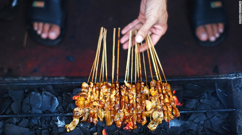 Most underrated part of great satay? The stick.