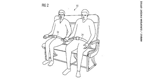 Airbus patented a re-configurable passenger bench seat in February 2016.