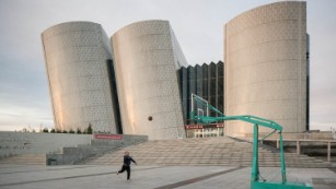 Abandoned architectural marvels in China's largest ghost town