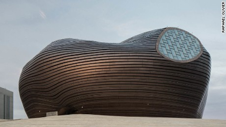 Art Museum of Ordos by MAD Architects