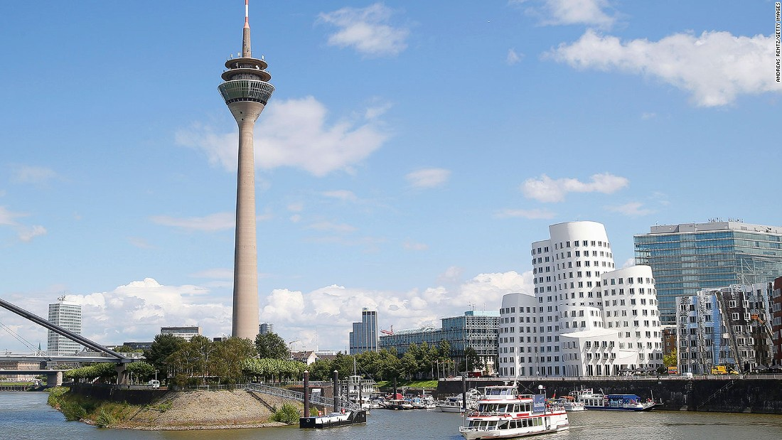 Another German city of commerce takes seventh place in the Mercer list. There are three German cities in the top 10.