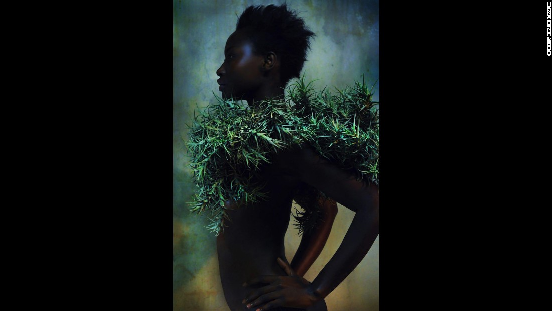 "Due to the erotic nature of his work, Rossouw says nurturing the relationship with his subjects -- who hail from countries as diverse as Sudan and Jamaica -- is key. <br /><br />""I make sure I'm comfortable with the models; I make sure the models are comfortable with me,"" he explains. ""I mean, they're not wearing a lot of clothes! But the style, saturated and concealed with foliage... I try to make these pictures in some way family friendly... You don't want to hide (them) from your gran or your mother when they come to visit."""