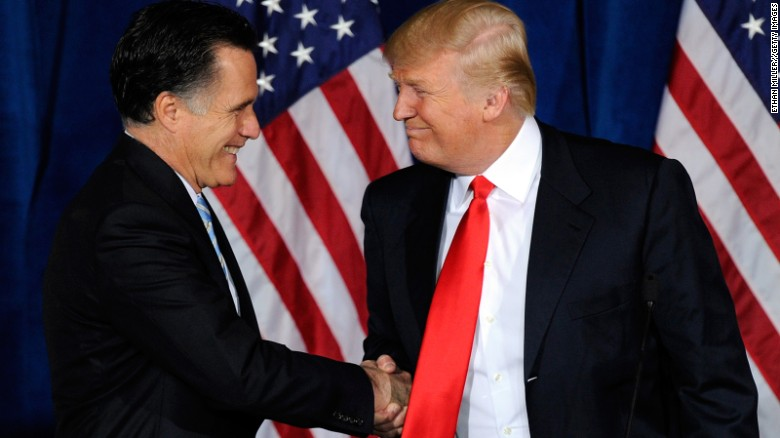 Trump responds to Romney tax return 'bombshell' claims