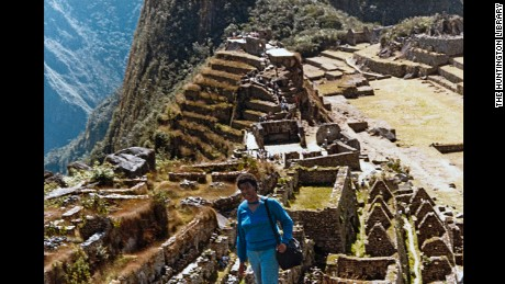 Octavia Butler visited Machu Picchu during a research trip to the Amazon.