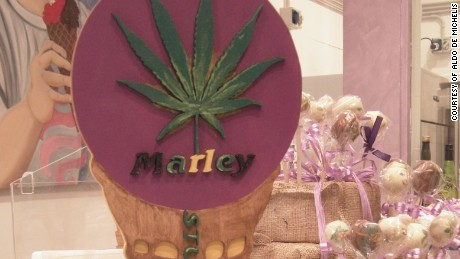 Marley is among the best-selling flavors, according to one of its creators.