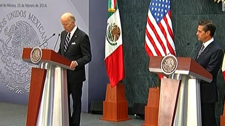 Joe Biden apologizes to Mexico for GOP rhetoric