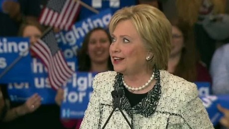 Hillary Clinton: 'Tomorrow, this campaign goes national'