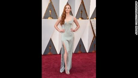 Oscars 2016: Red carpet