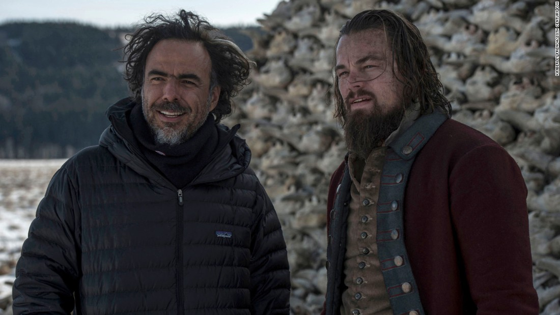 "<strong>Best director:</strong> Alejandro G. Inarritu, ""The Revenant"""