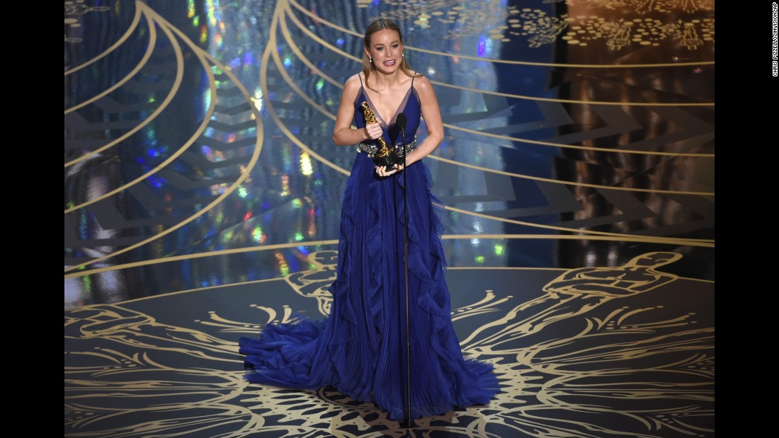 "Brie Larson accepts the best actress award at the 88th annual Academy Awards on February 28, 2016. Larson won for her role in ""Room."" Here are all the other actresses who have captured the prize over the years:"